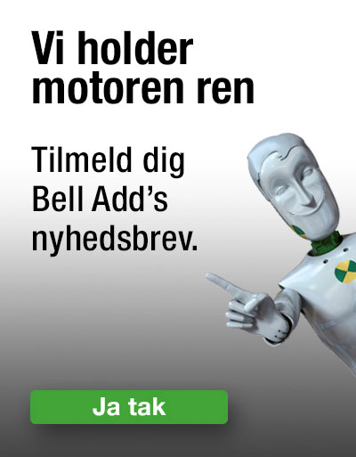 Tilmeld Bell Add´s nyhedsbrev